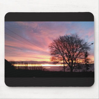 Yorkshire sunset pretty mouse mat. mouse pad