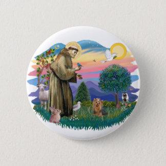 Yorkshire Terrier (#7) 6 Cm Round Badge