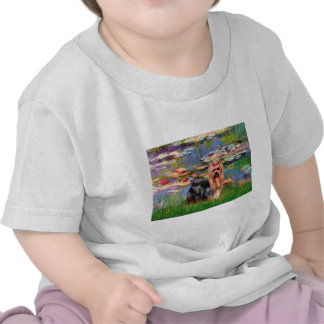 Yorkshire Terrier 9 - Lilies 2 Tee Shirts