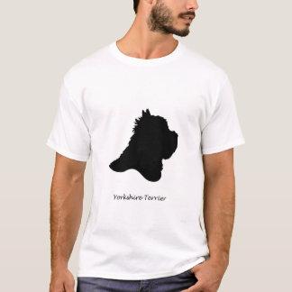 Yorkshire Terrier - black Silhouette T-Shirt