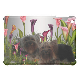 Yorkshire Terrier Calla Lily  iPad Mini Covers