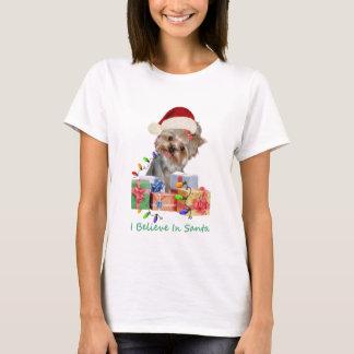 Yorkshire Terrier Christmas Apparel T-Shirt