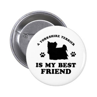 Yorkshire terrier Designs Pin