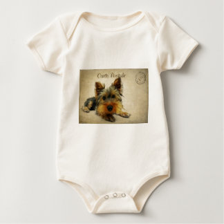 Yorkshire Terrier Dog Baby Bodysuit