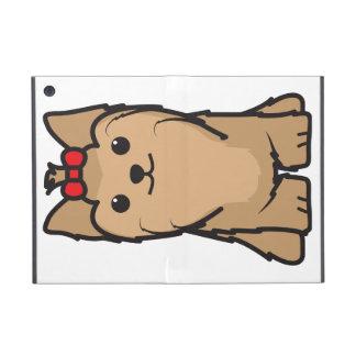 Yorkshire Terrier Dog Cartoon Case For iPad Mini