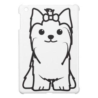 Yorkshire Terrier Dog Cartoon iPad Mini Covers