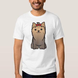 Yorkshire Terrier Dog Cartoon Shirt