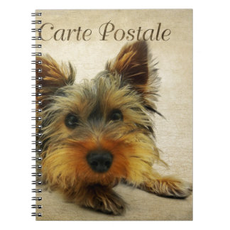 Yorkshire Terrier Dog Notebook