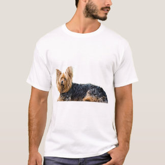 Yorkshire Terrier Dog Picture Men's T-shirt