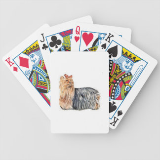 Yorkshire Terrier Dog Playing Cards