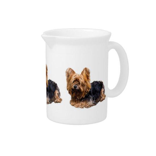 Yorkshire Terrier Drink Pitcher