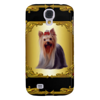 Yorkshire Terrier Gold 3G Galaxy S4 Cover