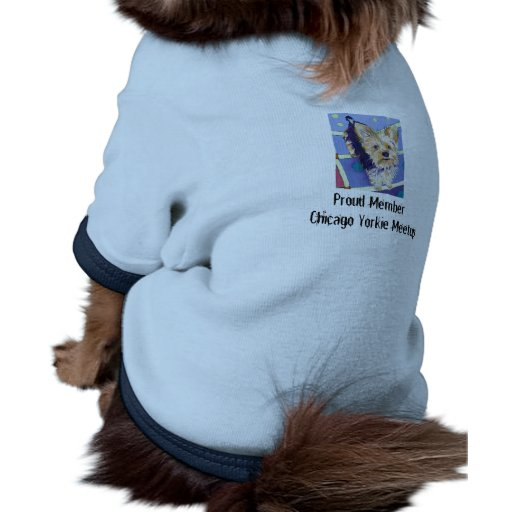 Yorkshire Terrier Group Image, Proud Member Chi... Doggie T-shirt