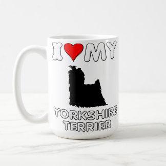 Yorkshire Terrier I Love Heart My Mug
