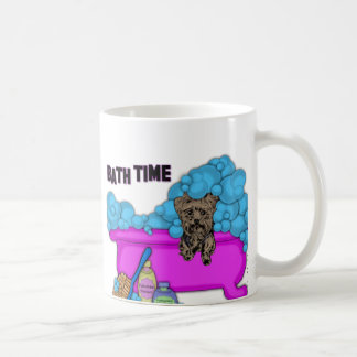 Yorkshire Terrier In Bath Tub Coffee Mug