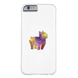 Yorkshire Terrier in watercolor 2 Barely There iPhone 6 Case