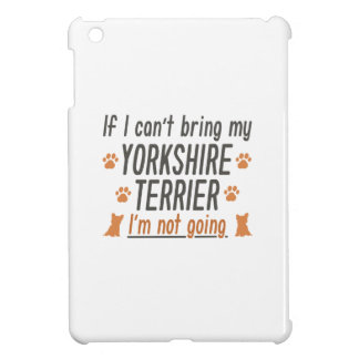 Yorkshire Terrier iPad Mini Cover