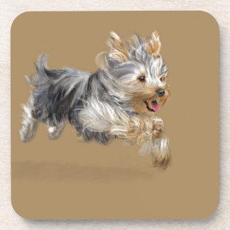 "Yorkshire Terrier ""Joy"" Drink Coaster"