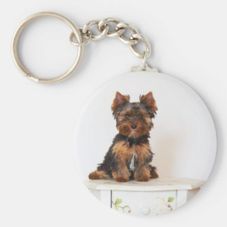 Yorkshire Terrier Key Ring