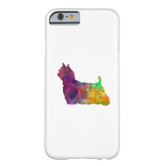 Yorkshire Terrier Long Hair in watercolor Barely There iPhone 6 Case