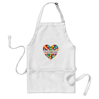 Yorkshire Terrier Love Standard Apron