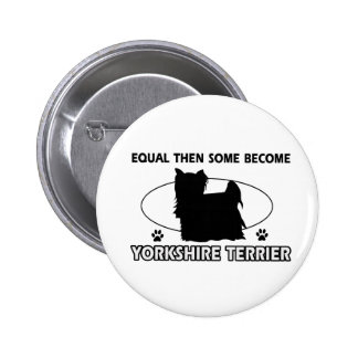Yorkshire Terrier Mommy Design Pins