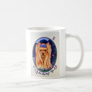 Yorkshire Terrier Basic White Mug
