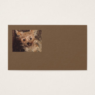 Yorkshire Terrier Painting Business Cards