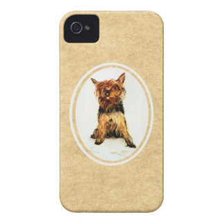 Yorkshire Terrier Painting iPhone 4 Case-Mate Case