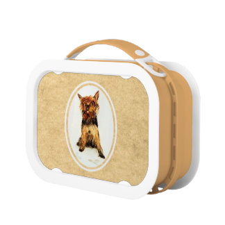 Yorkshire Terrier Painting Lunchbox