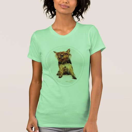 Yorkshire Terrier Painting Shirt