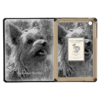 Yorkshire Terrier Pencil Drawing iPad Mini Covers