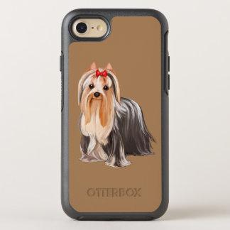 Yorkshire Terrier Portrait OtterBox Symmetry iPhone 8/7 Case
