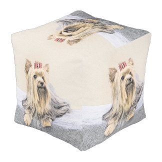 Yorkshire Terrier Pouf