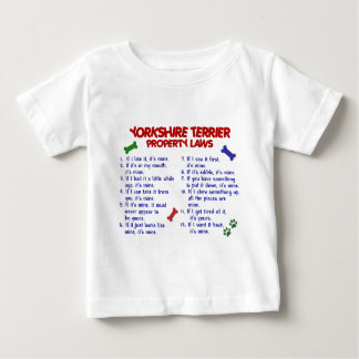 YORKSHIRE TERRIER Property Laws 2 Yorkie T Shirts
