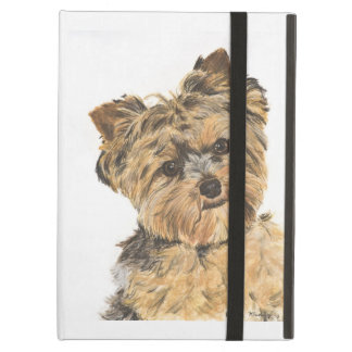 Yorkshire Terrier Pup Painting Case For iPad Air