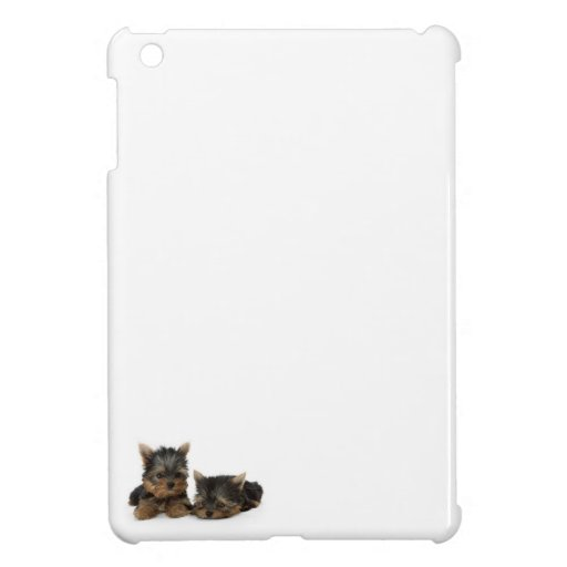 Yorkshire Terrier Puppies Cover For The iPad Mini