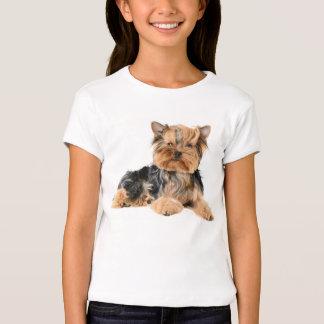 Yorkshire Terrier Puppy Dog Girls T-Shirt