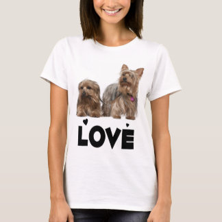 Yorkshire Terrier Puppy Dog Love Yorkies Women's T-Shirt