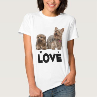 Yorkshire Terrier Puppy Dog Love Yorkies Women's T Shirts