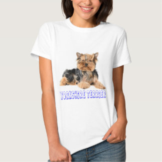Yorkshire Terrier Puppy Dog Women's Canine Tee