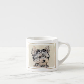 Yorkshire Terrier Puppy Espresso Cup