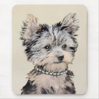 Yorkshire Terrier Puppy Mouse Pad