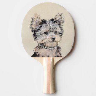 Yorkshire Terrier Puppy Ping Pong Paddle