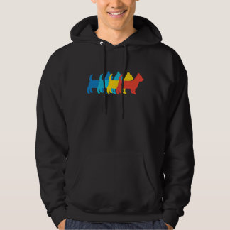 Yorkshire Terrier Retro Pop Art Hoodie