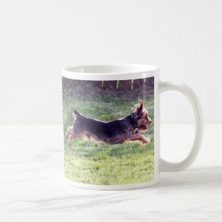 Yorkshire Terrier running Coffee Mug