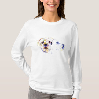 Yorkshire Terrier Sketch T shirt