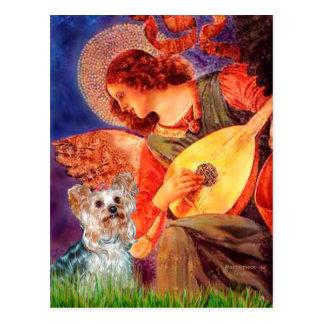 Yorkshire Terrier (T) - Mandolin Angel Postcard