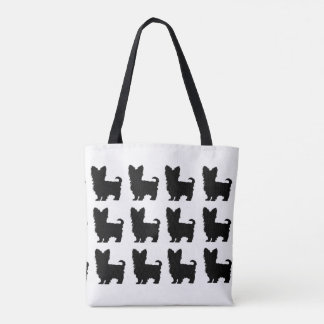 """Yorkshire Terrier"" Tote Bag"