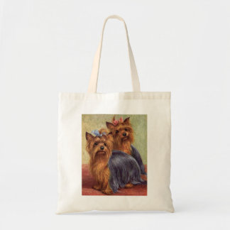Yorkshire Terrier Vintage Tote Bag